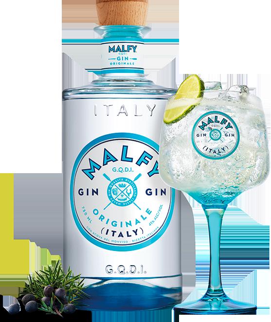 Malfy Gin Originale served